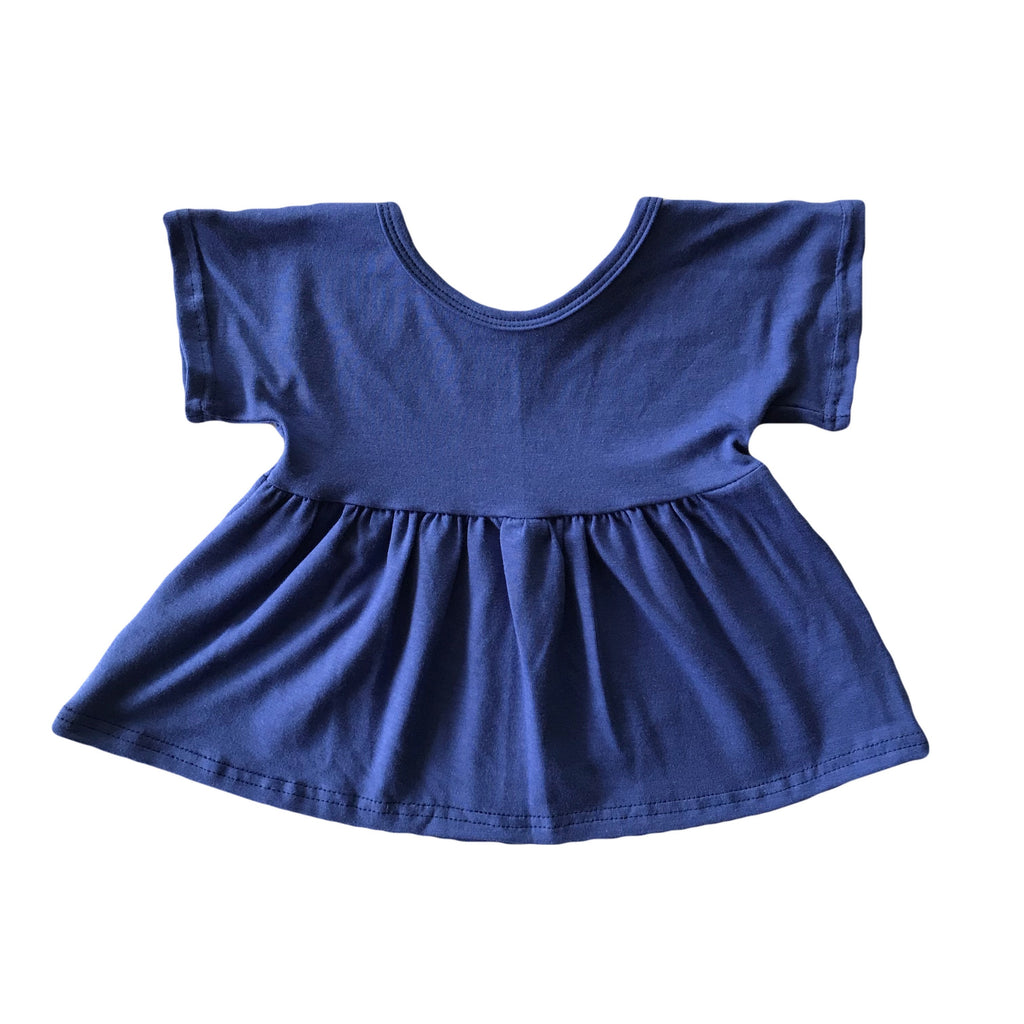 Indigo Swing Top