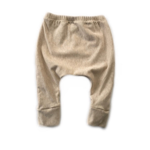 Heathered Almond Fleece Lounge Pants