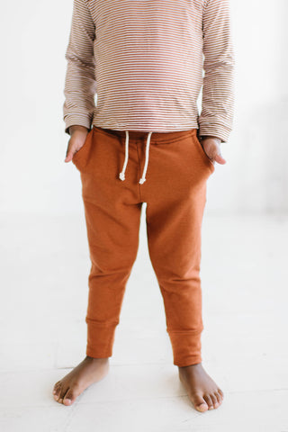 Pocket Joggers in Toffee