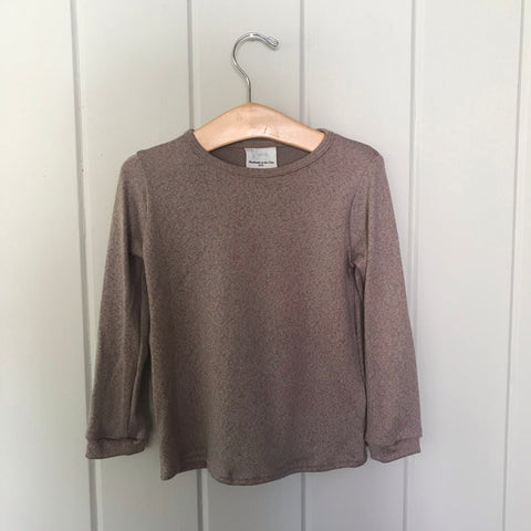 Biscotti Cotton Modal Long Sleeve Sweater
