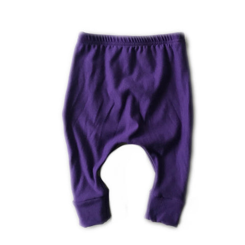 Eggplant Fleece Lounge Pants