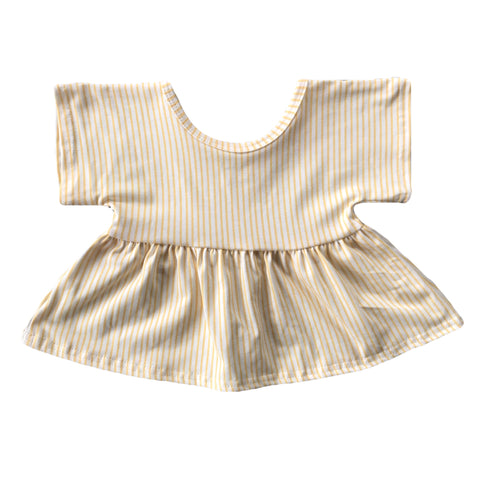 Golden Stripe Swing Top