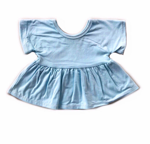 Baby Blue Swing Top
