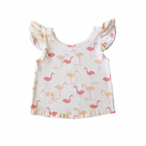 Flamingo Flutter Tank Top