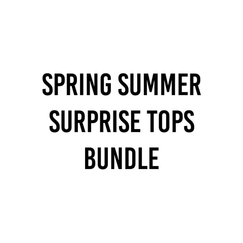 4 Piece Surprise Spring Summer Top Bundle