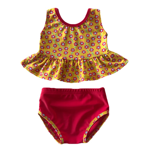 Yellow Liberty Bathing Suit