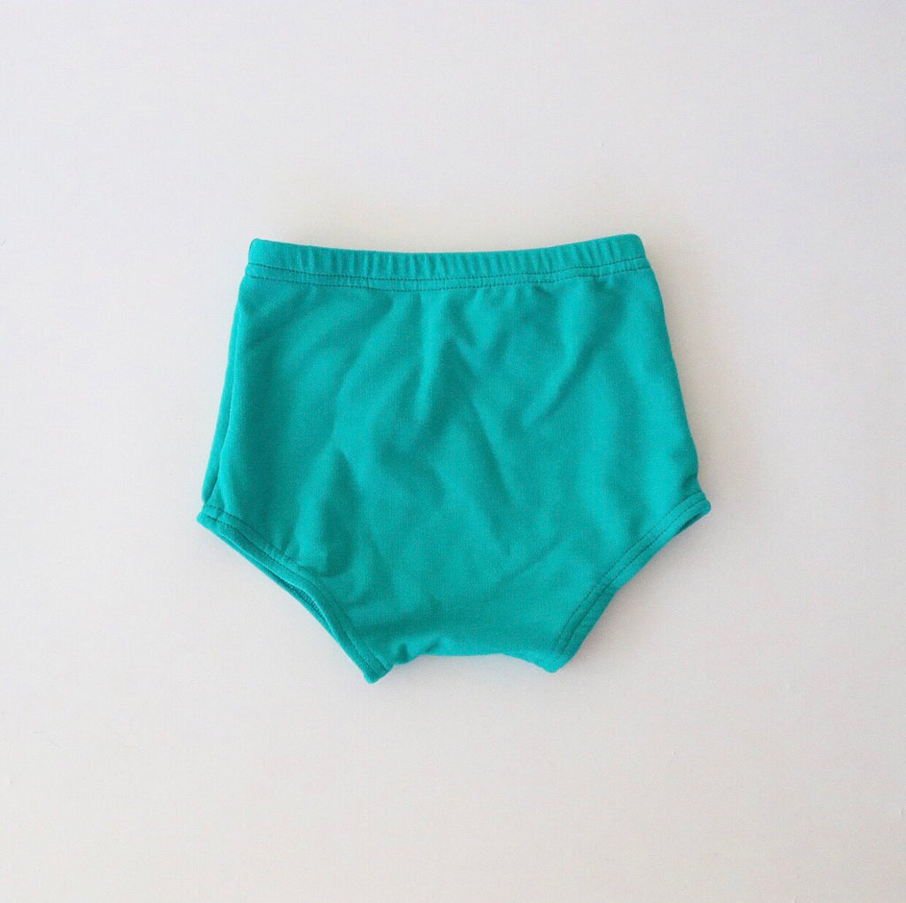 Jade Bamboo French Terry Bloomers
