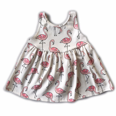 Flamingo Tank Swing Dress