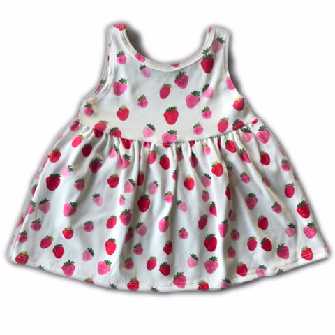Strawberry Tank Swing Dress