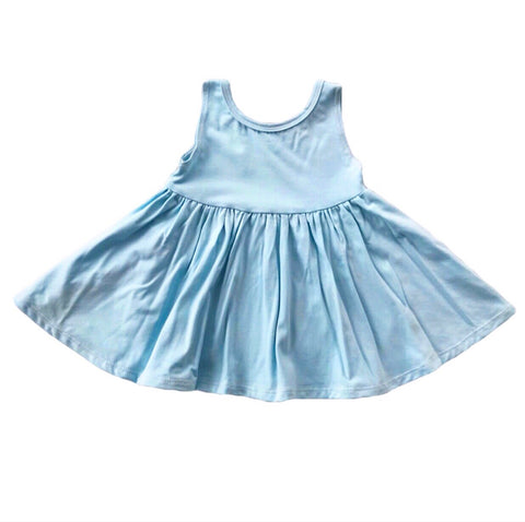 Baby Blue Tank Twirly Dress