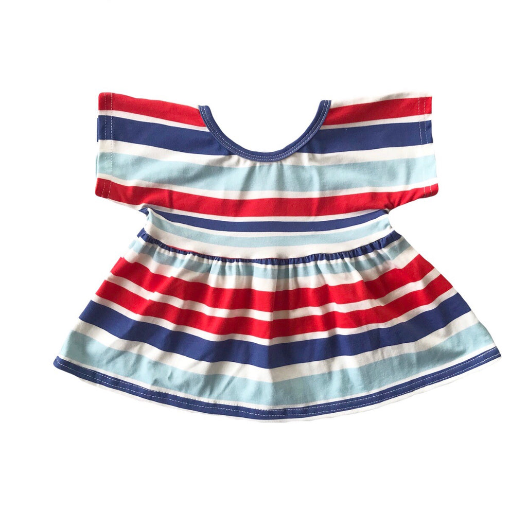 Eleanor Stripe Swing Top