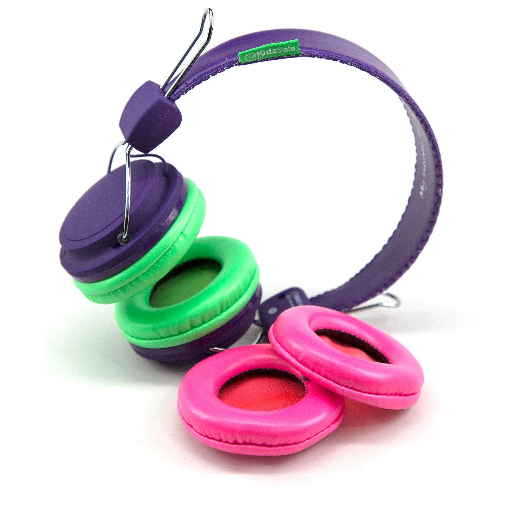 KidzSafe™ DIY Headphones - Purple