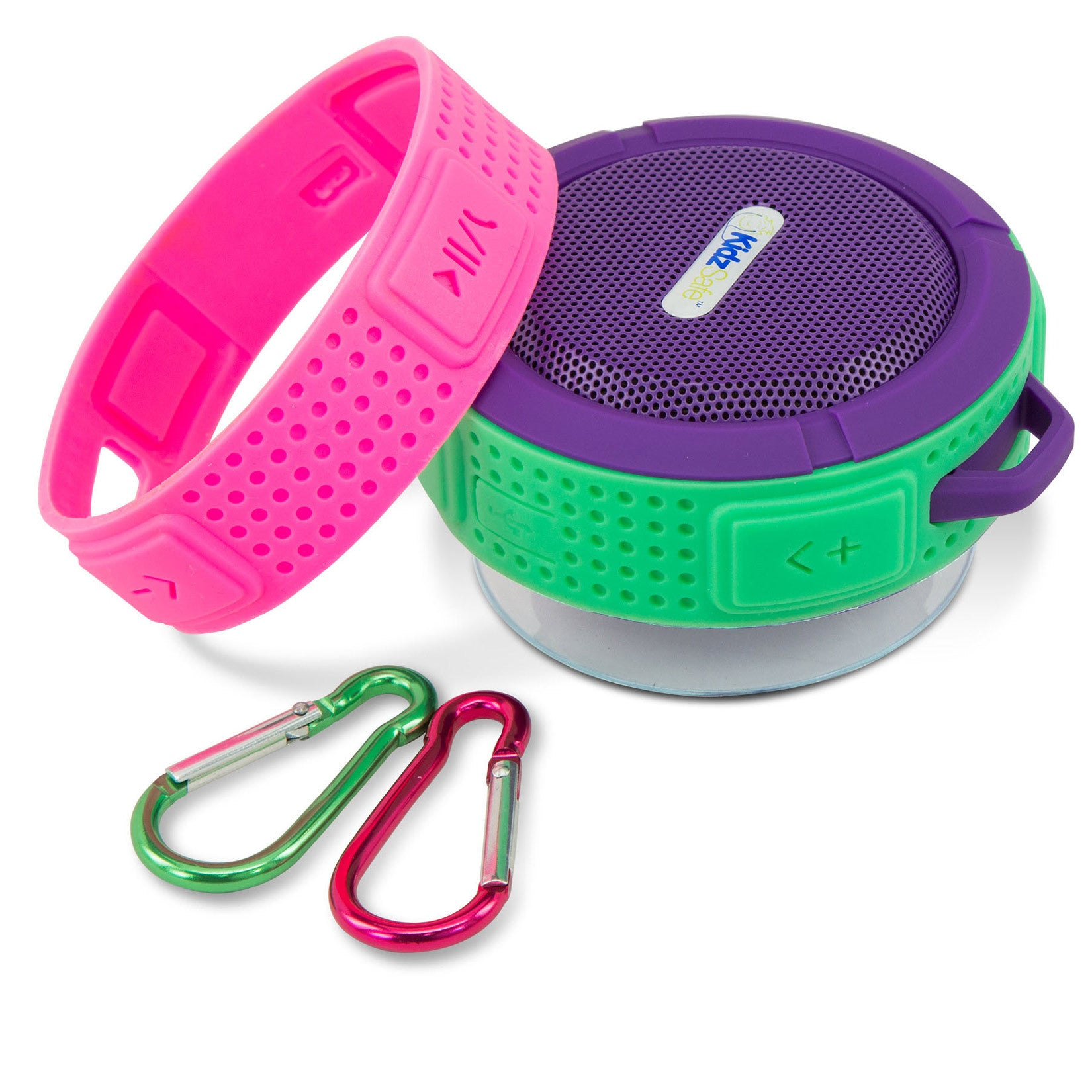 KidzSafe™ DIY Wireless Speaker - Purple