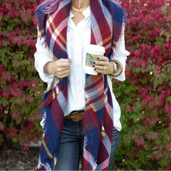 cs gems paisley boutique blanket scarf