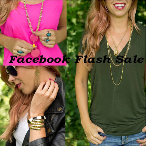 CS GEMS FACEBOOK FLASH SALE 7/23/15 AT 8pm CST!