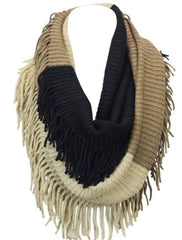 cs gems infinity scarf with fringe