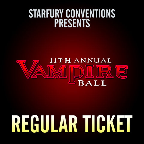 Regular Ticket - The Vampire Ball 11