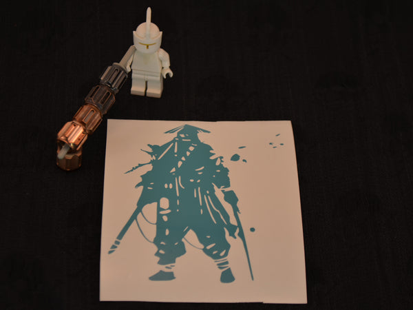 Ronin Warrior Sticker / 4 Inch