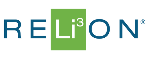 Relion Insight Lithium battery logo.
