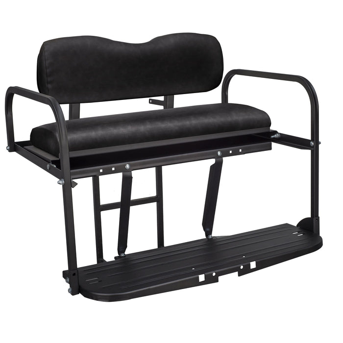 Gusto™ Club Car Precedent Golf Cart Rear Flip Seat Kit for 2004 and Up