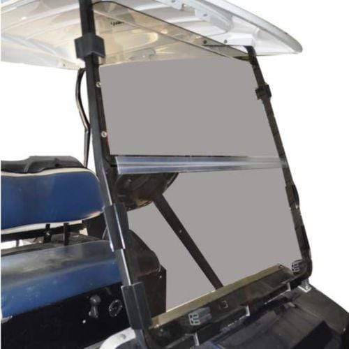 Club Car DS Tinted Acrylic Folding Windshield '00.5 - Up Installed