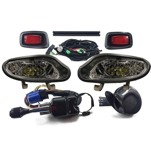 EZGO Freedom VALOR TXT 2014+ DELUXE Light Kit LED Headlights LED Taillights