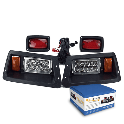 Yamaha G14-G22 Golf Cart All LED Light Kit Full Set w/ Box