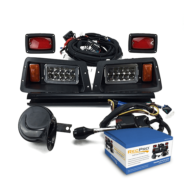 Yamaha G14-G22 Deluxe Street Legal All LED Light Kit on