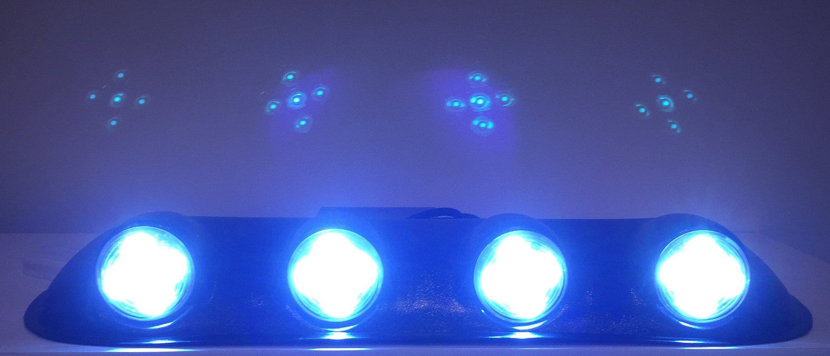 Universal Roof Top LED Golf Cart Light Bar Lit