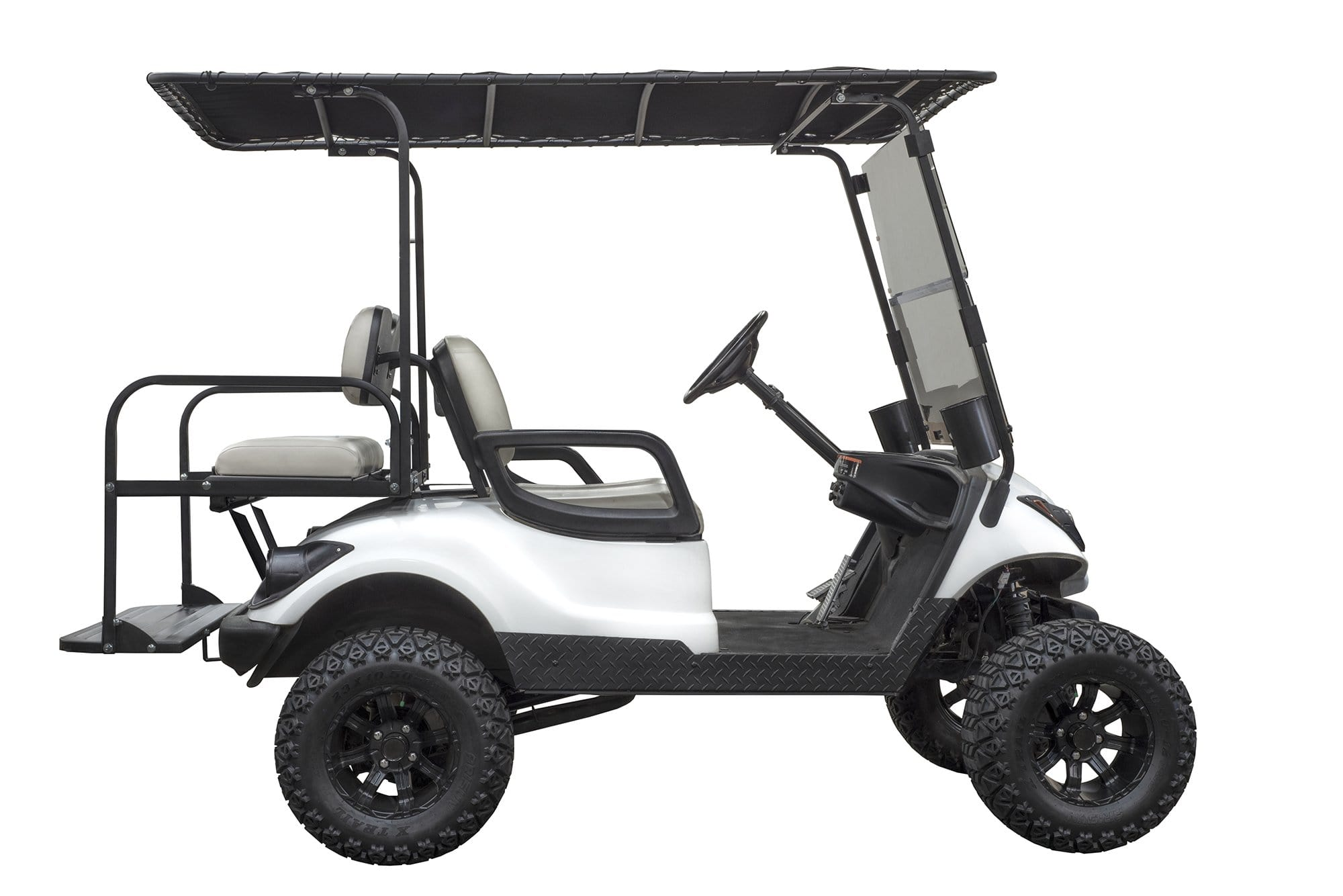 Picture of: Gusto Universal Golf Cart Canvas Roof