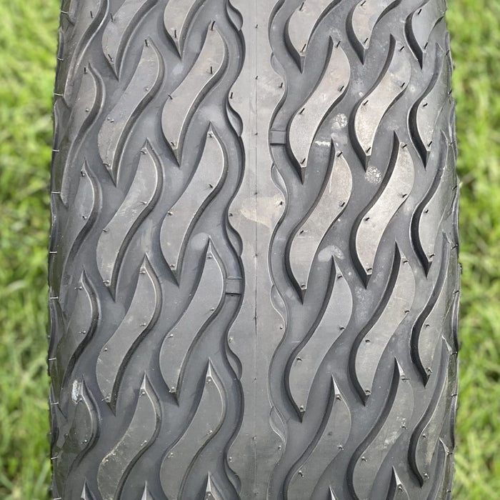 "23"" Lightning tires by Arisun for golf carts featuring tread."