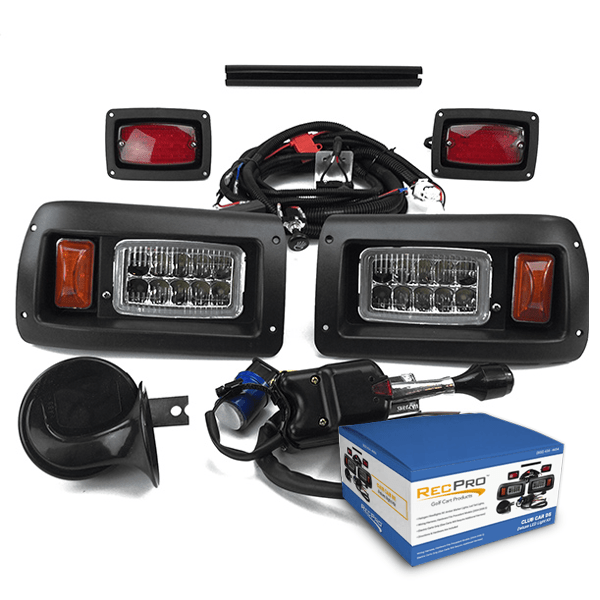 Club Car DS Deluxe LED Street Legal Adjustable Light Kit
