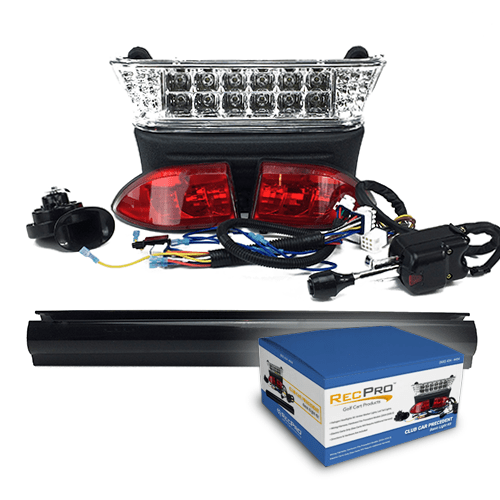 Club Car Precedent Deluxe Street Legal LED Light Kit