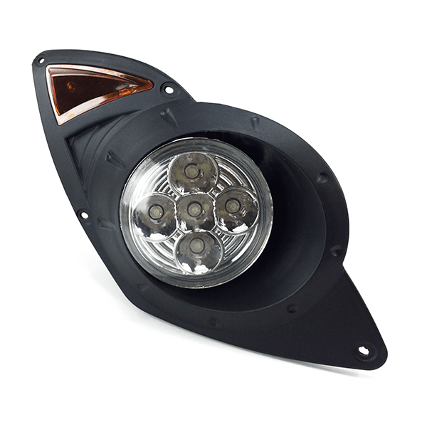 Yamaha Drive LED Headlight Assembly Front View