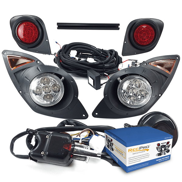 Yamaha Drive G29 Golf Cart 2007 Up Deluxe All Led Street