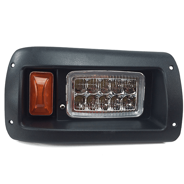 Club Car DS LED Headlight Assembly Passenger