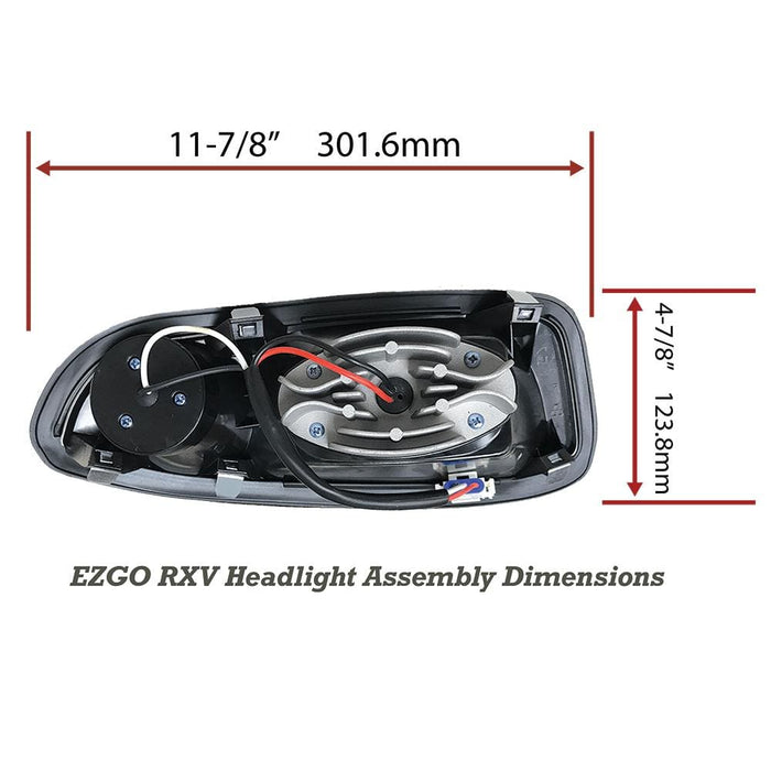 EZGO RXV Basic All LED Light Kit