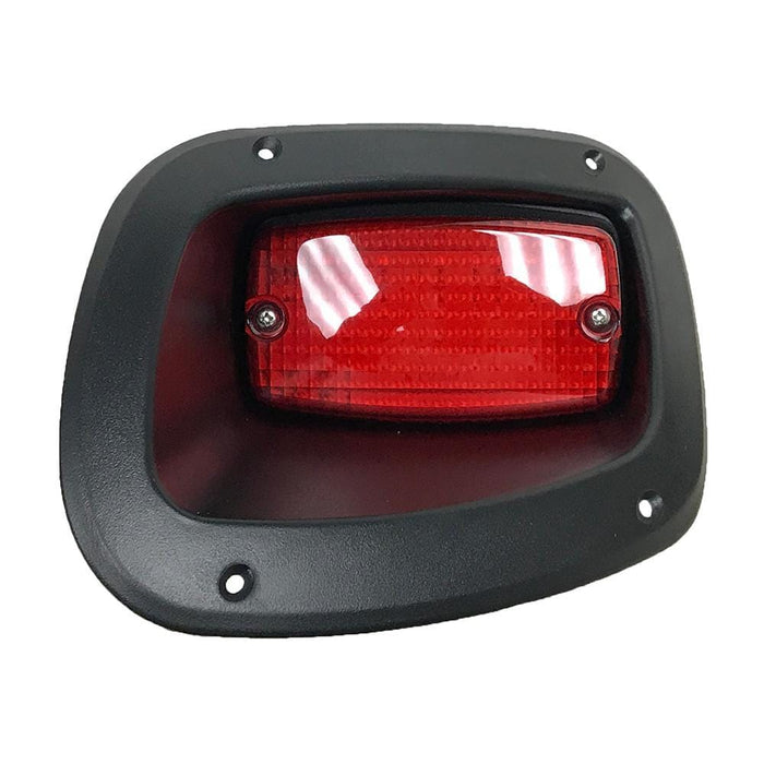Passenger side individual LED tail light for EZGO TXT Valor model 2014 and newer.