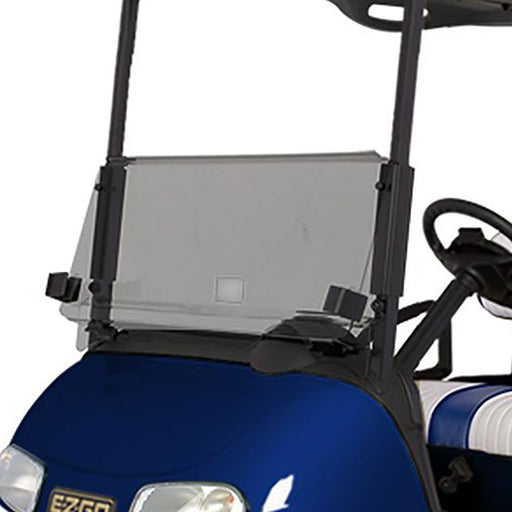 EZGO RXV golf cart Tinted Windshield with Folding Acrylic