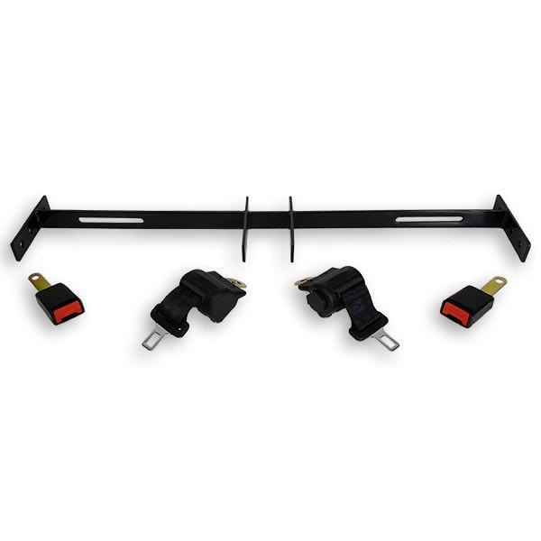RecPro™ Golf Cart Universal Seat Belt w/ Mounting Bracket (2 Person Kit)