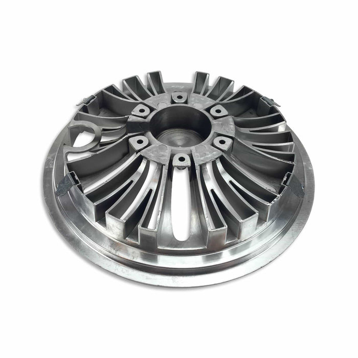 "8"" Universal Chrome Hub Caps - Set of 4"