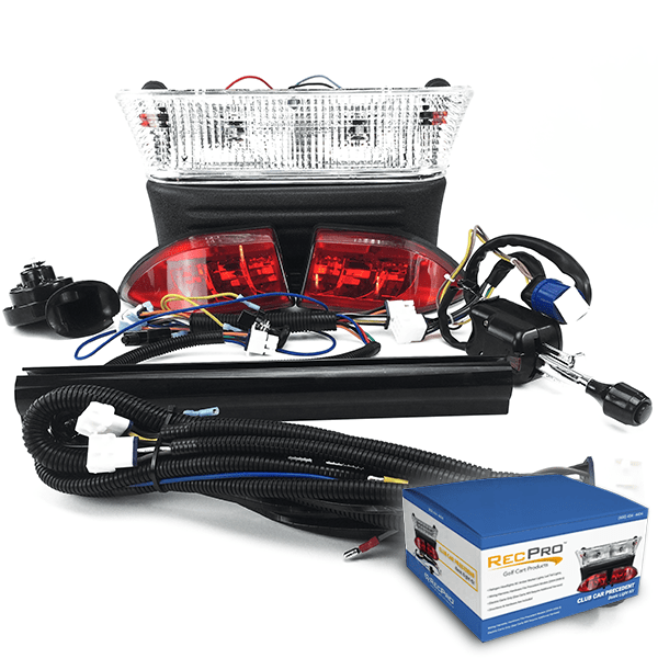 Club Car Precedent Deluxe Street Legal* Halogen Light Kit