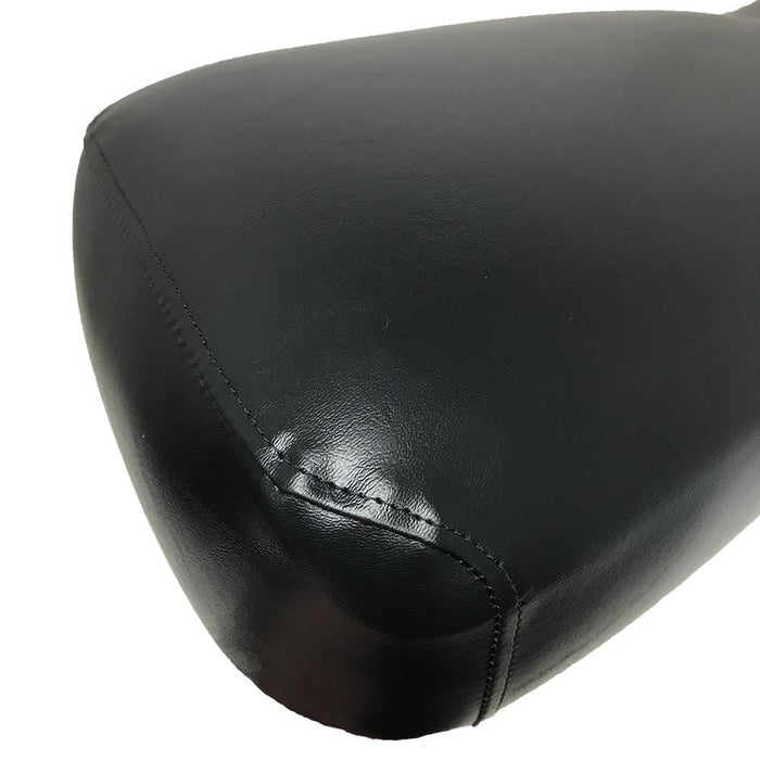 Back cushion for replacement seat assembly for Club Car DS model 2000 and newer in black.