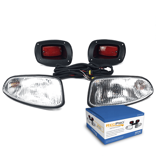 EZGO RXV 08-UP HALOGEN LIGHT KIT w/LED TAIL LIGHT