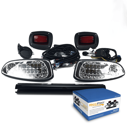 EZGO RXV All LED Deluxe Street Legal Light Kit