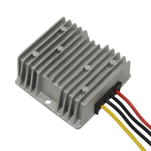 RecPro¨Club Car Precedent Voltage Reducer 36V-48V Volt To 12V 20 Amp Plug & Go