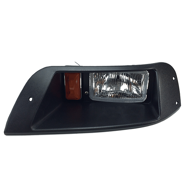 EZGO TXT Halogen Headlight Front View