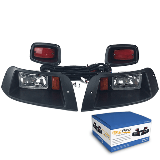 EZGO TXT Adjustable Halogen Light Kit with LED Taillights