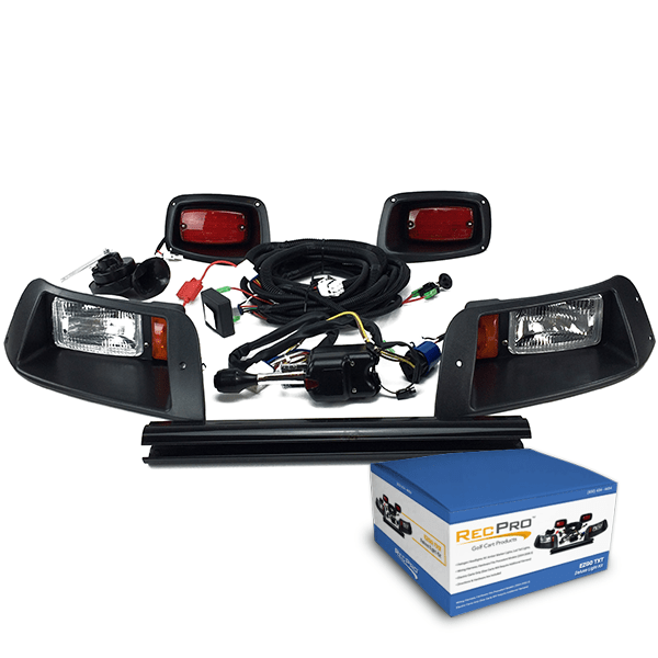 EZGO TXT DELUXE Street Legal HALOGEN Light Kit