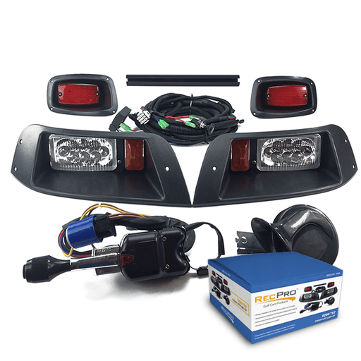EZGO TXT Deluxe Street Legal ALL LED Light Kit